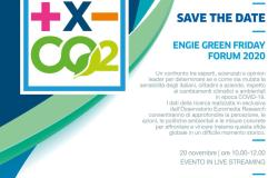 Il 20 novembre si terrà l'Engie Green Friday Forum2020
