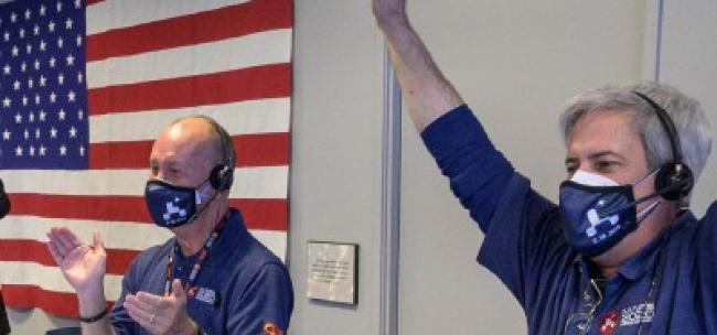 Touchdown! NASA's Mars Perseverance Rover Safely Lands on Red Planet